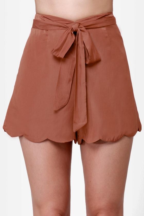 Pretty Penny Copper Shorts