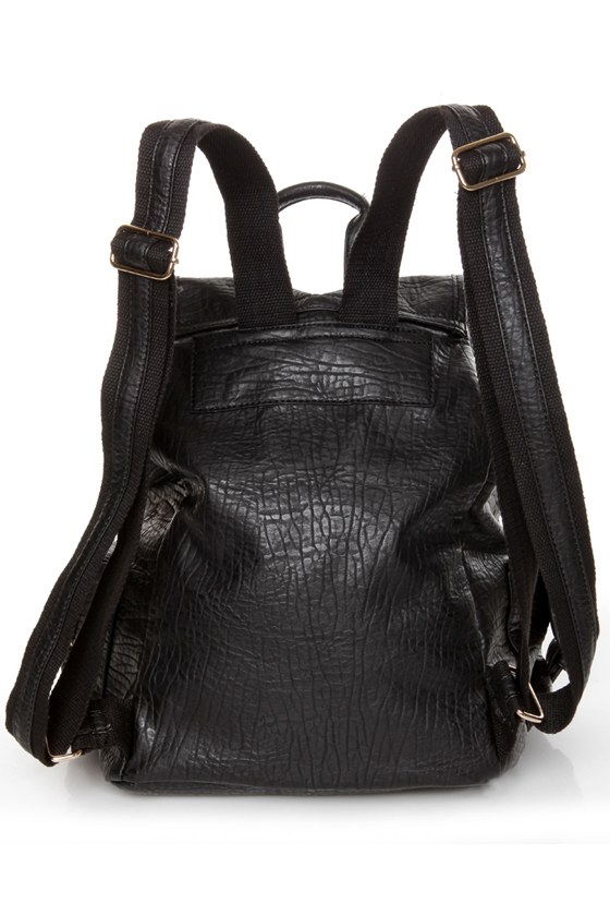 Get In Shine Studded Black Backpack at Lulus.com!