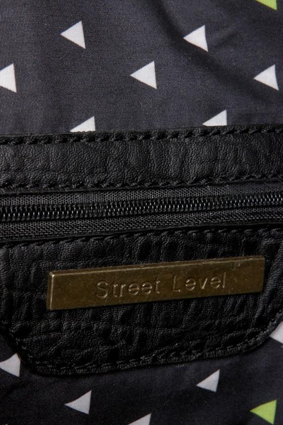 Get In Shine Studded Black Backpack