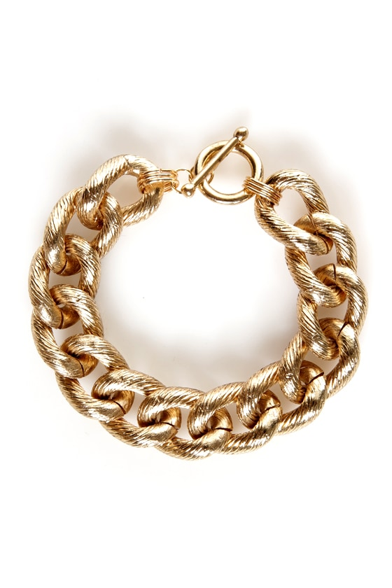 Groove-y Review Gold Bracelet