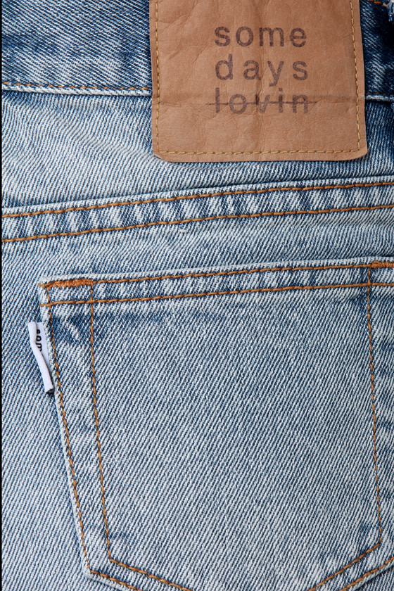 Somedays Lovin\\\' Booty Call Destroyed Jean Shorts
