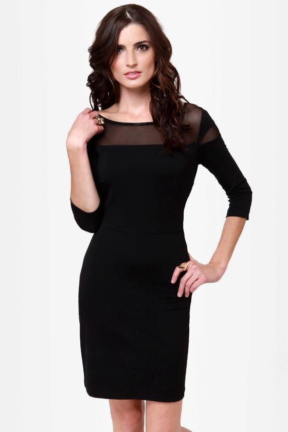 BB Dakota Jada Black Dress