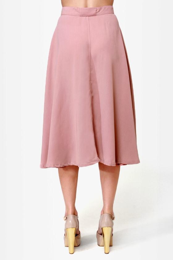 blush skirt midi skirt pink skirt beige skirt