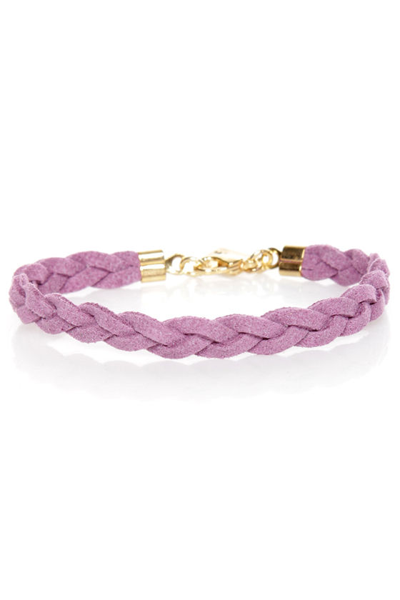 Made to Braid Lavender Bracelet at Lulus.com!