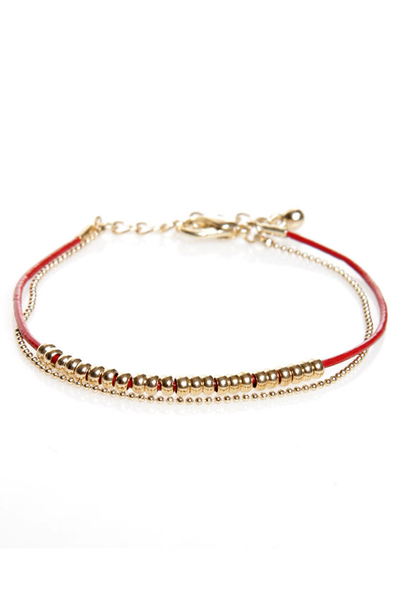 Double Trouble Bracelet at Lulus.com!