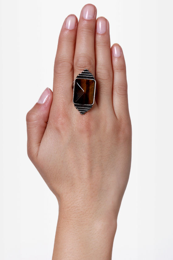 Mink Pink Eye of the Tiger Ring at Lulus.com!