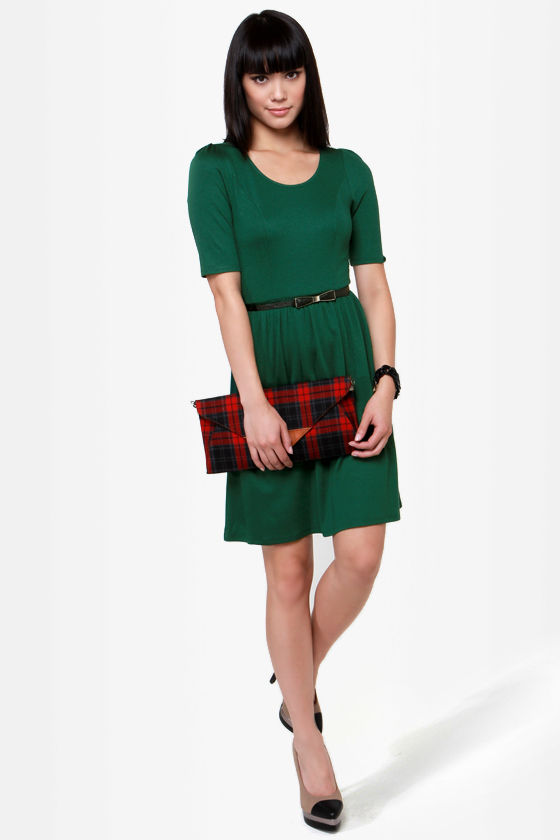 Do Wah Diddy Green Dress at Lulus.com!