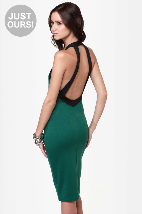 Sexy Bodycon Midi Dress