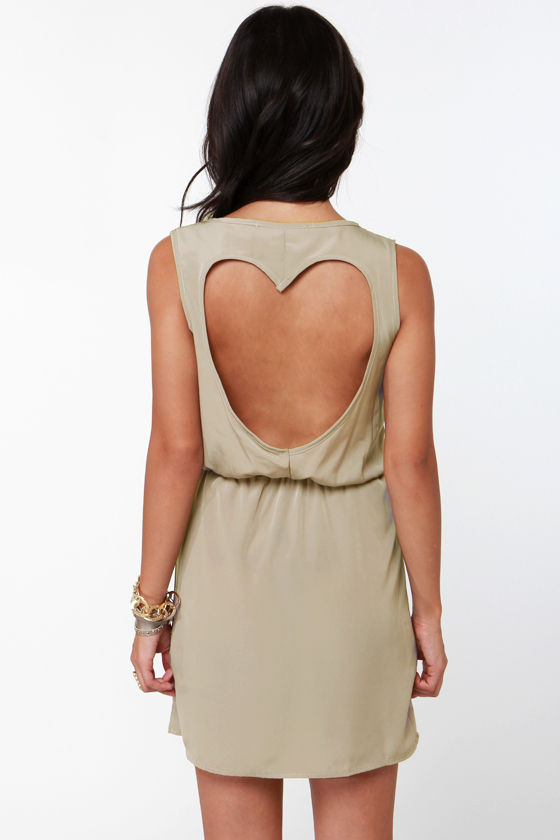 Heart to Get Taupe Sequin Dress at Lulus.com!