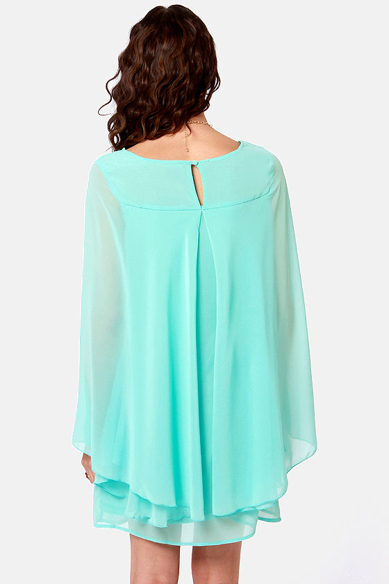 Domestic Goddess Mint Blue Shift Dress at Lulus.com!