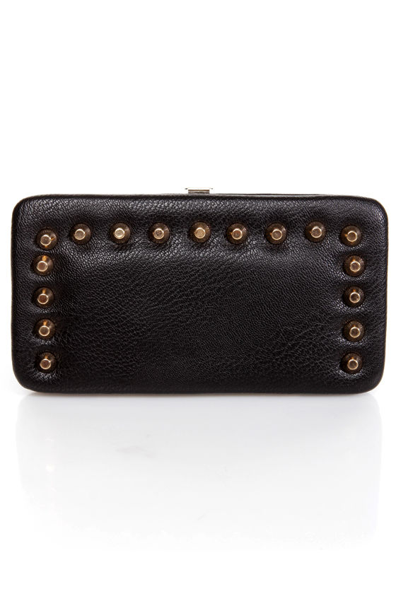 Snap-lications Studded Wallet at Lulus.com!