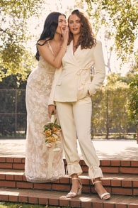 Casual Wedding Dresses Courthouse Elopement Wedding Dresses At Lulus