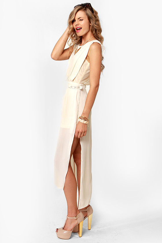 Midsummer Night's Dream Ivory Dress at Lulus.com!