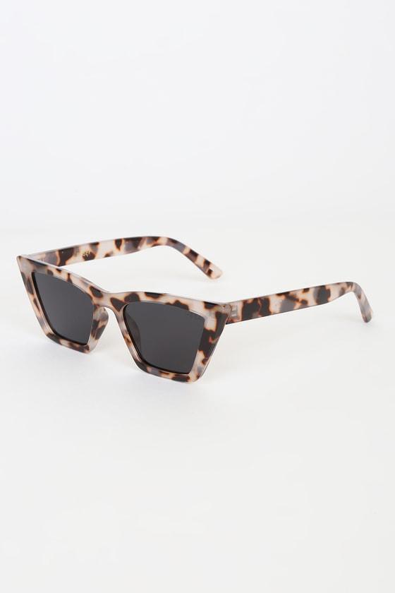 I-SEA Rosey Grey Tortoise Cat-Eye Sunglasses