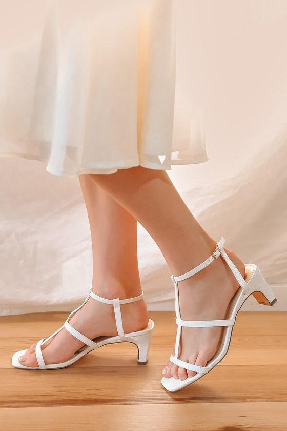 Details about  /Axellion Sandals for Woman,Kitten Heel Pumps Pointed Toe Shoes Slip On Sandal Sl