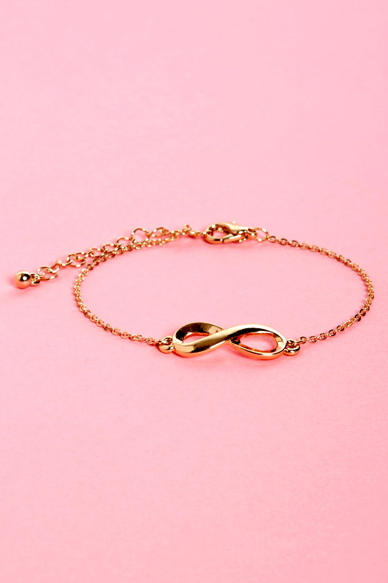 From Here to Eternity Infinity Bracelet at Lulus.com!