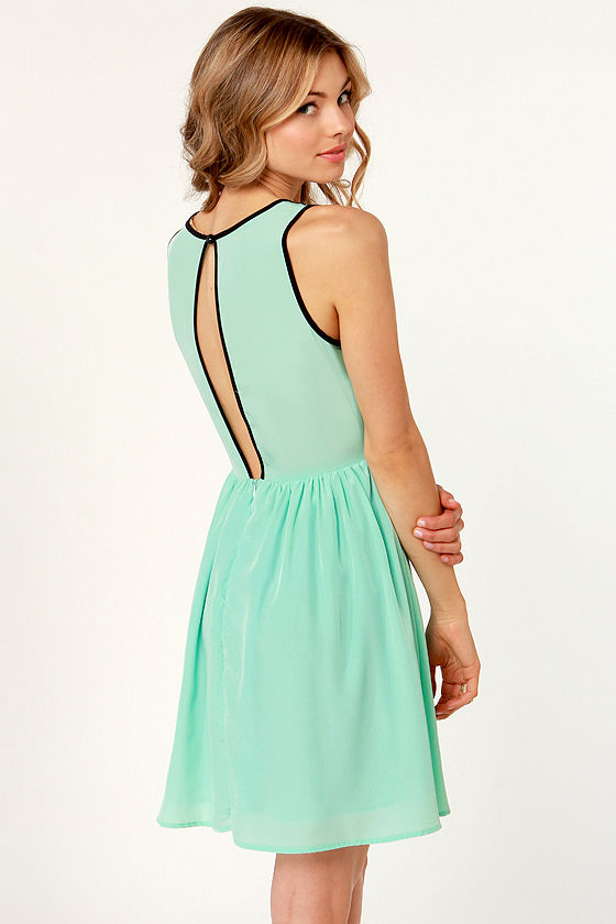Dance Hall Days Mint Green Lace Dress at Lulus.com!