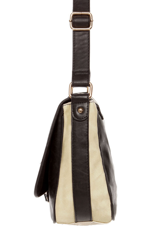 Tux Everlasting Black and Ivory Purse at Lulus.com!