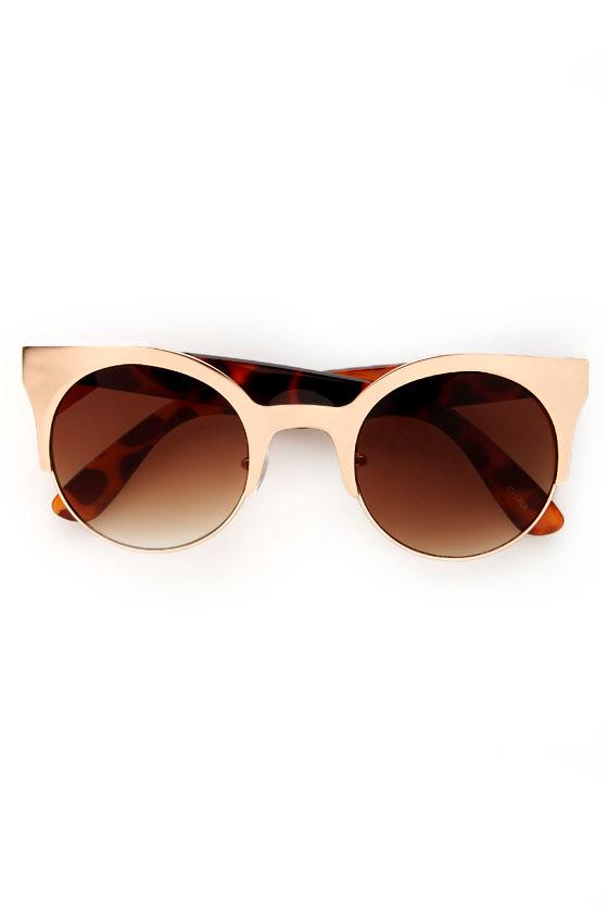Precious Metals Sunglasses at Lulus.com!