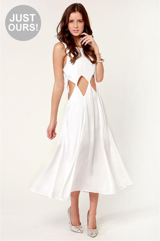 White Diamond Dress