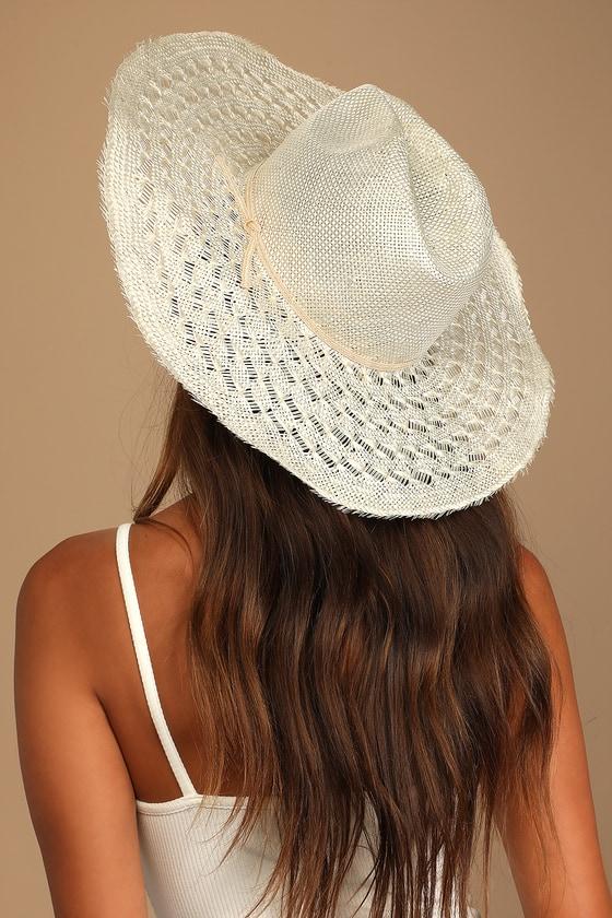Lulus | Merrick White Straw Hat