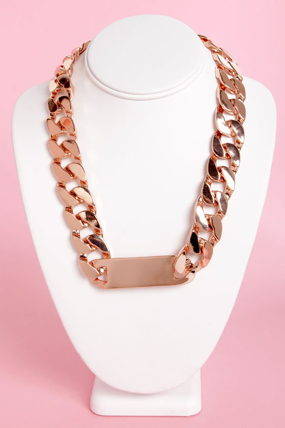 Identify My Love ID Necklace at Lulus.com!