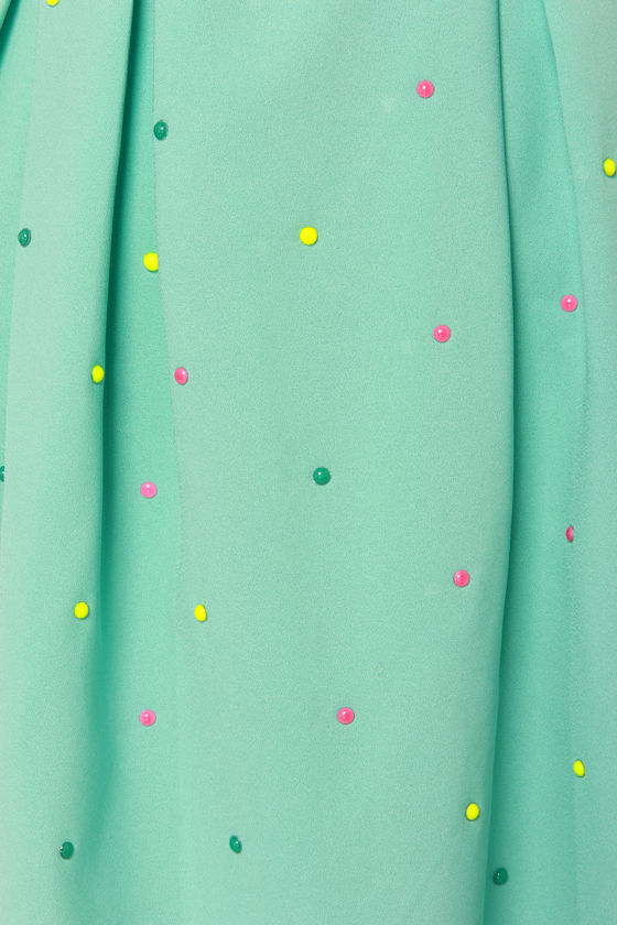 Candy Rain Mint Green Dress at Lulus.com!