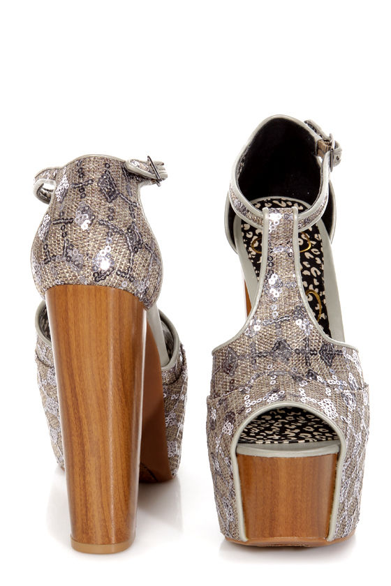 cf8a877fcc4 Jessica Simpson Dany Nude Suede T Strap Glitter Platform HeJessica ...