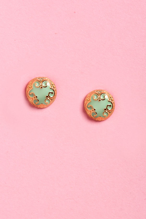 Baroque of Ages Earrings at Lulus.com!