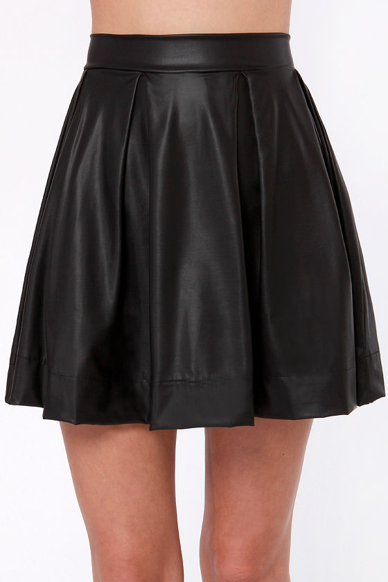 Royal Highness Black Skirt at Lulus.com!