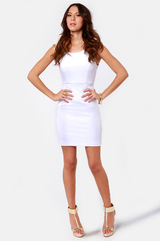 LULUS Exclusive Contessa Beaded White Dress at Lulus.com!