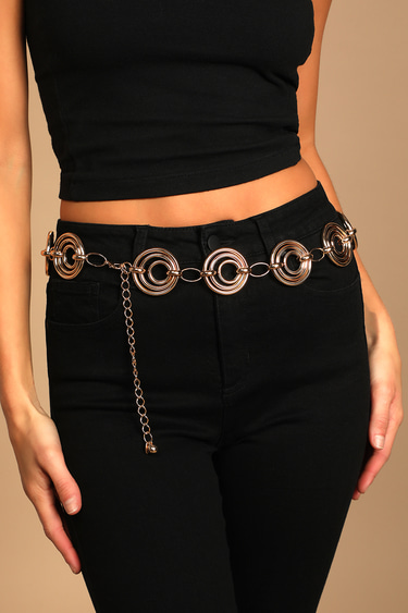 Make it Mod Gold Chain Belt