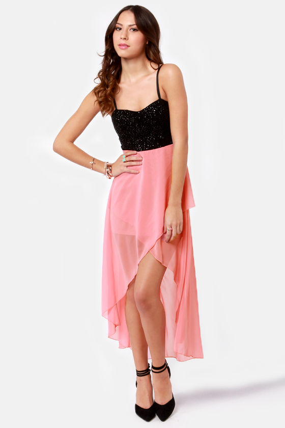 Pretty Pink Dress  Highlow Dress  Glitter Dress  $4450. Vintage Style Wedding Dresses Auckland. Indian Wedding Dresses Online Shopping India. Vera Wang Wedding Dresses Sale Ebay. Wedding Dresses 50 Style Uk
