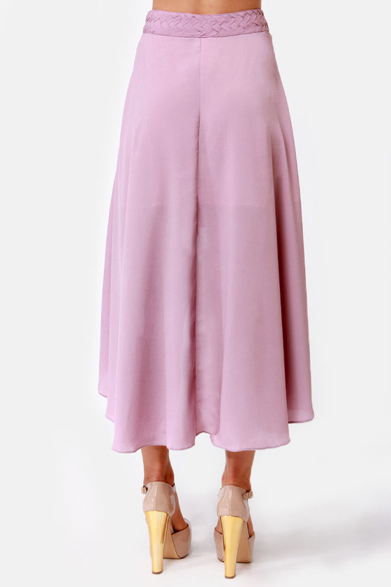 Raid the Braid Lavender Skirt at Lulus.com!
