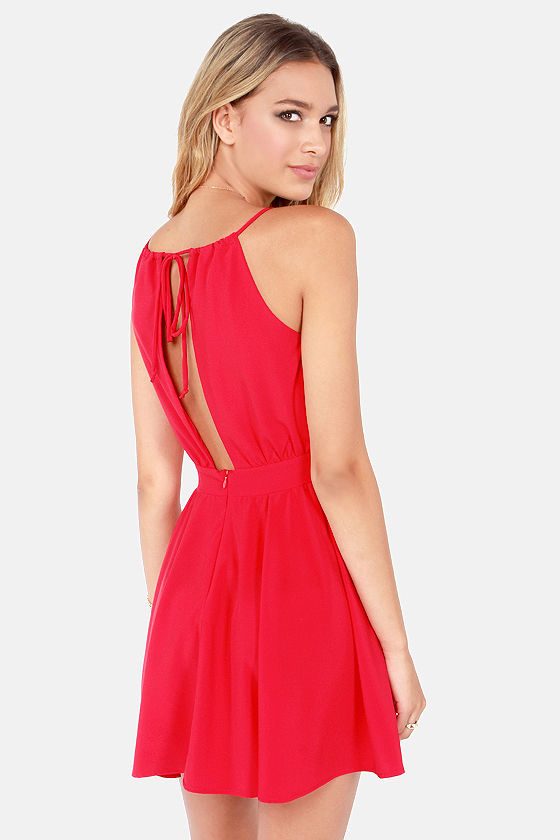 Lucy Love Penelope Red Dress at Lulus.com!
