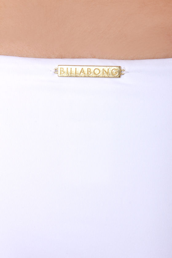 Billabong Sammy White Fringe Bikini at Lulus.com!