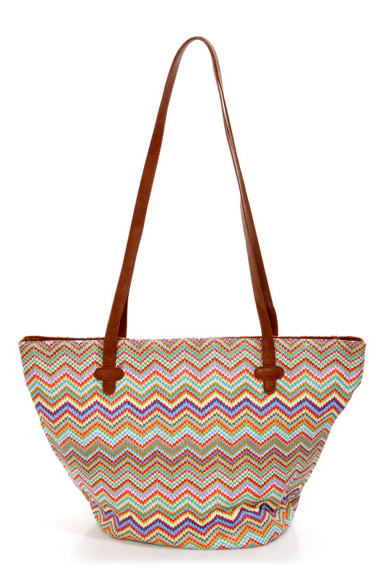 Roxy Out to Sea Multi Woven Tote Bag at Lulus.com!