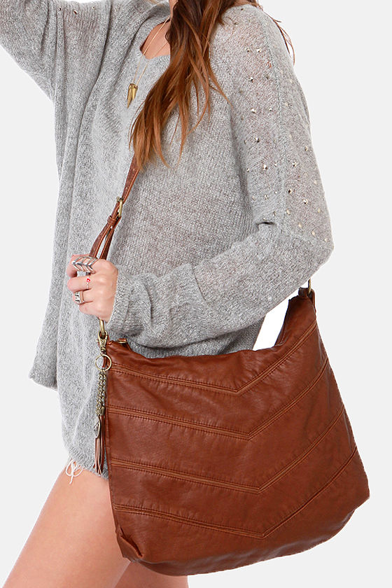 Roxy Launch Brown Purse at Lulus.com!