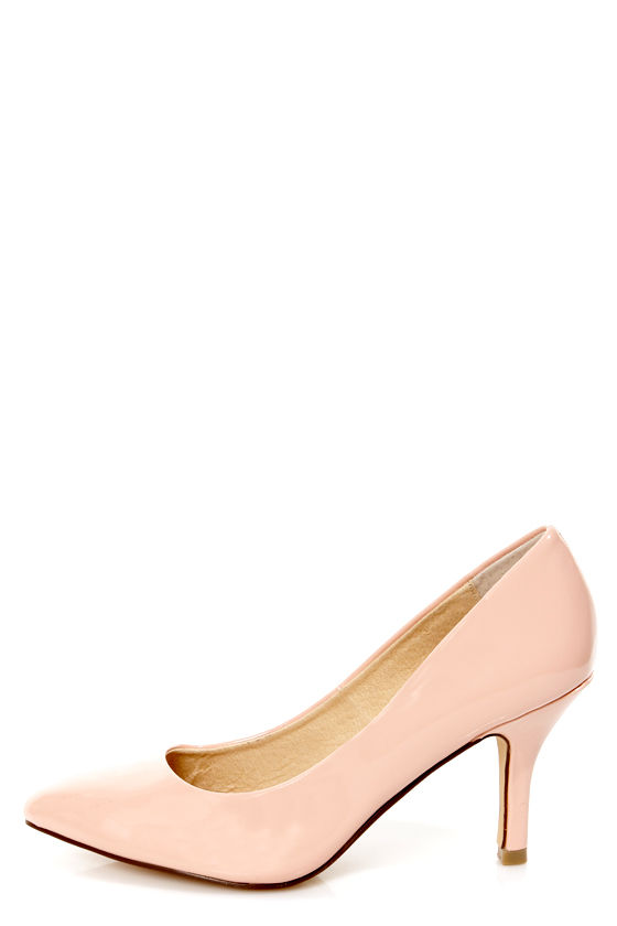 1a2384bfd31223 Chinese Laundry Area Patent Peachy Creme Pointed Pumps -  69.00