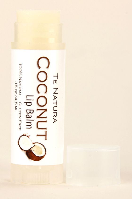 Te Natura Coconut Lip Balm at Lulus.com!