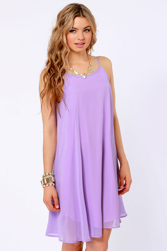 Lavender Cocktail Dresses for Women