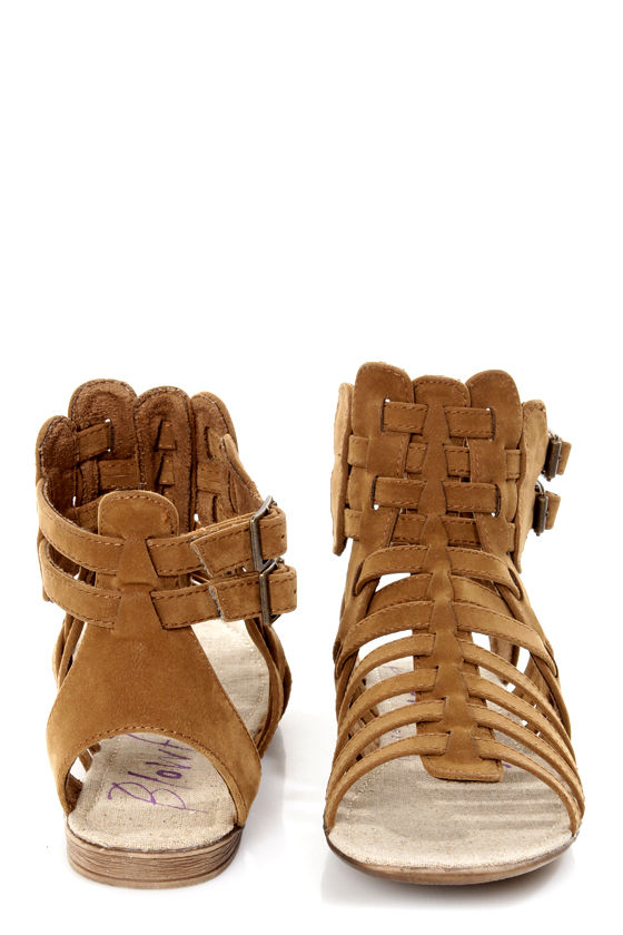 Blowfish Coco Earth Fawn Brown Gladiator Sandals at Lulus.com!