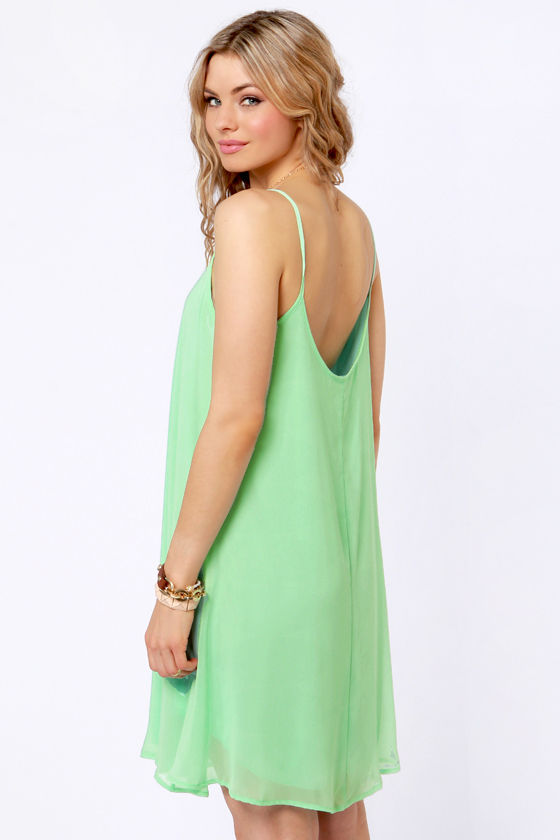 A Kiss For Luck Mint Green Midi Dress at Lulus.com!