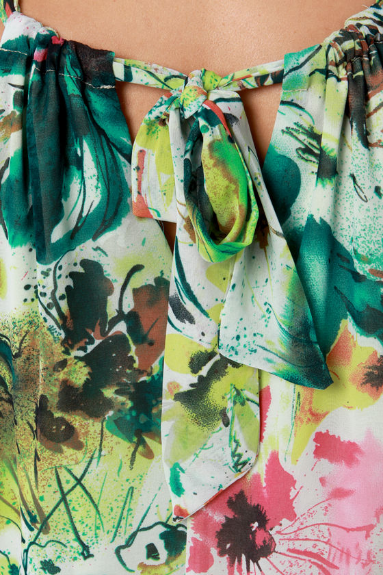 Drawn to You Floral Print Shift Dress at Lulus.com!