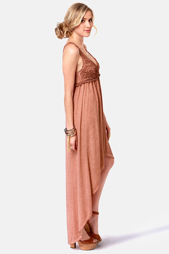 Black Sheep Gypsy Rose High-Low Dress at Lulus.com!