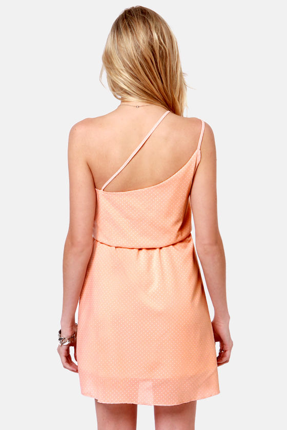 Sipping Sweet Tea Peach Dress at Lulus.com!