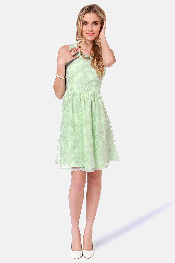 Lace Damask Dresses