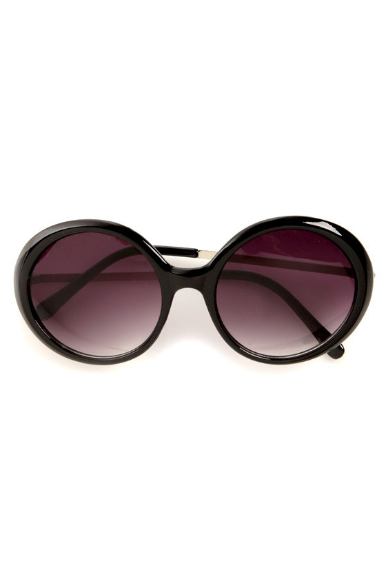 See the Light Black and Silver Sunglasses at Lulus.com!