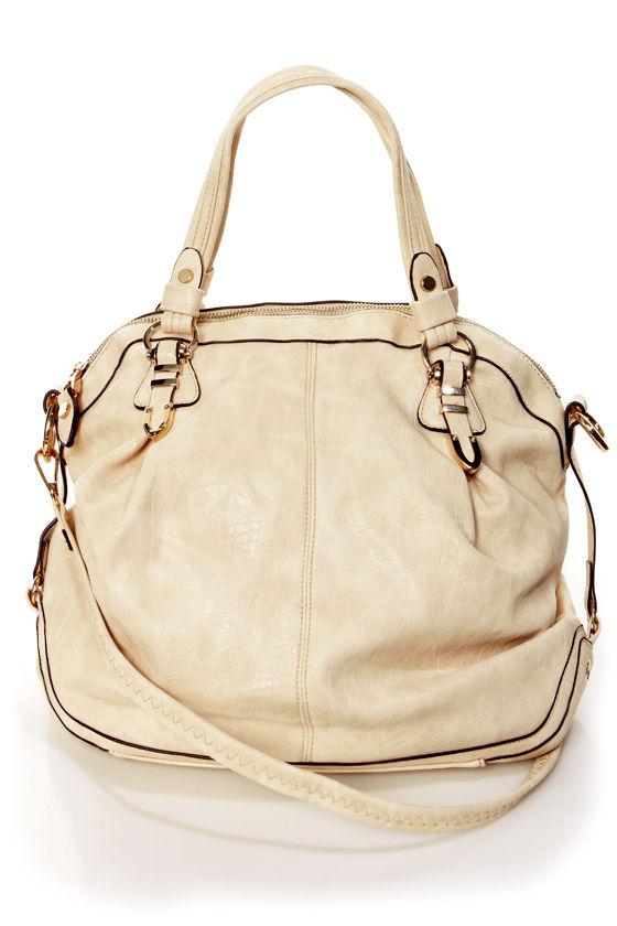 Chic Cream Handbag - Purse by Urban Expressions - Oversized Handbag -  66.00 e2674e80e1a19