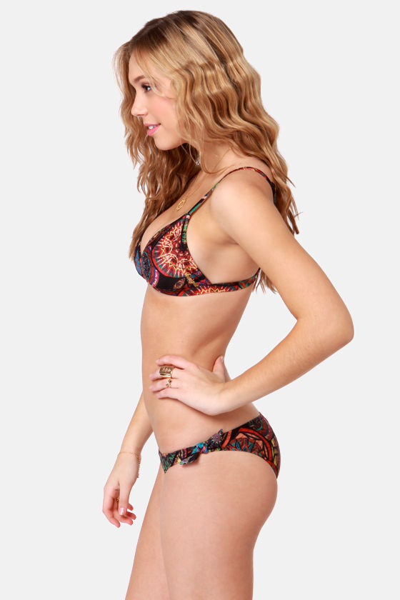Insight Madnights Fixed Triangle Bikini at Lulus.com!